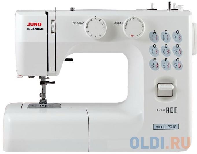 Швейная машина Janome Juno 2015 белый фото