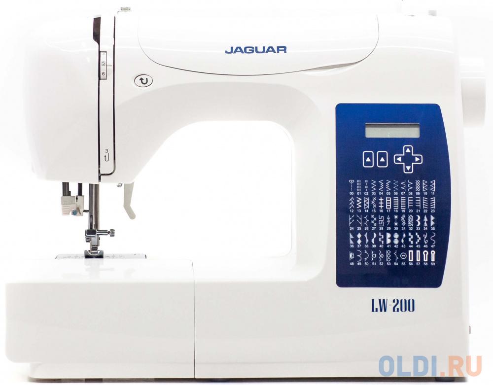 Швейная машина Jaguar LW-200 белый