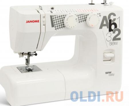 Швейная машина Janome sew easy белый швейная машина janome 90a белый