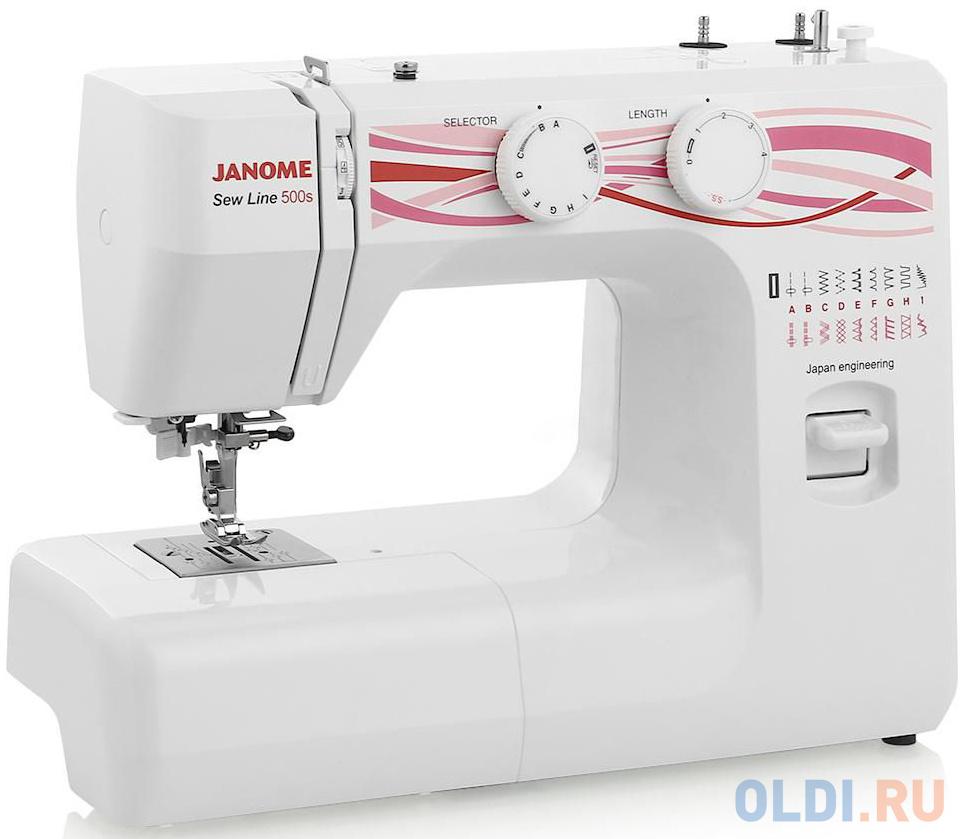 Швейная машина Janome 500s белый фото