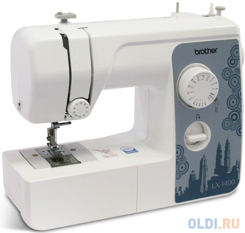 Швейная машина Brother LX-1400 белый швейная машина brother lx 1400s белый