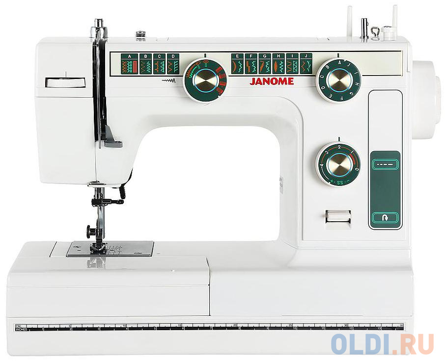 Швейная машина Janome 394 белый швейная машина janome 90a белый
