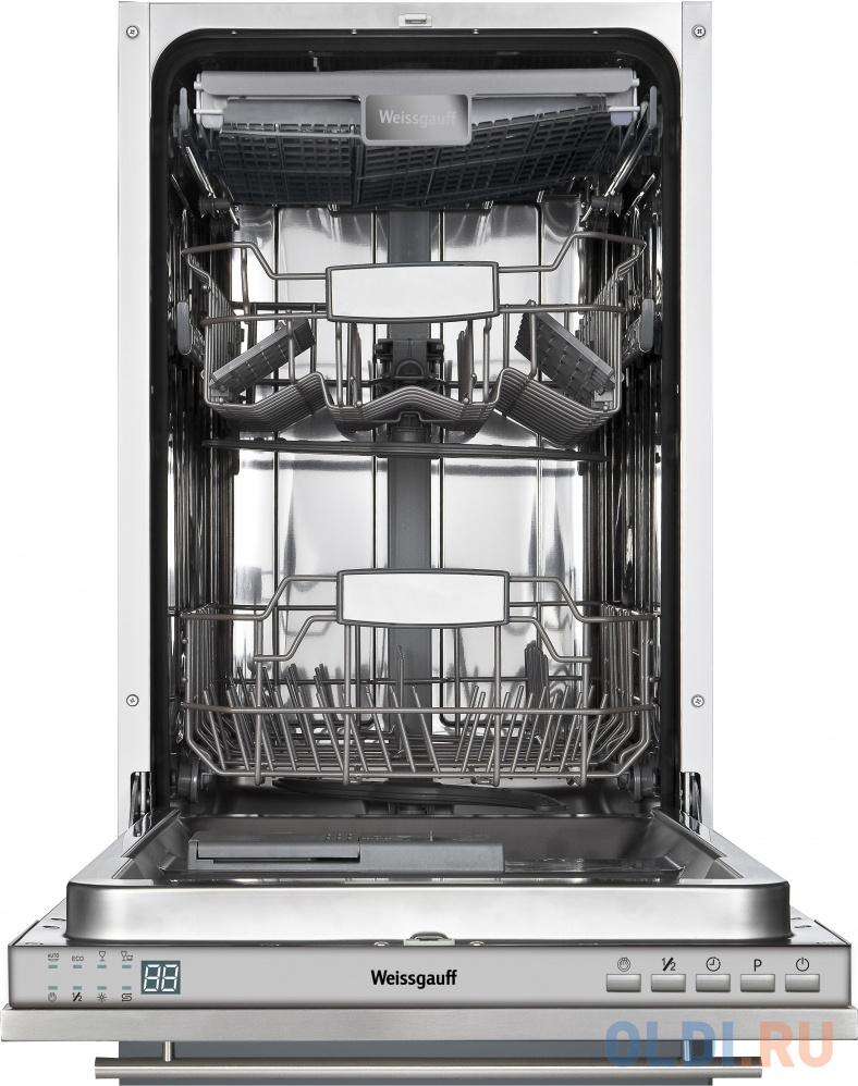 Посудомоечная машина Weissgauff BDW 4543 D белый фото