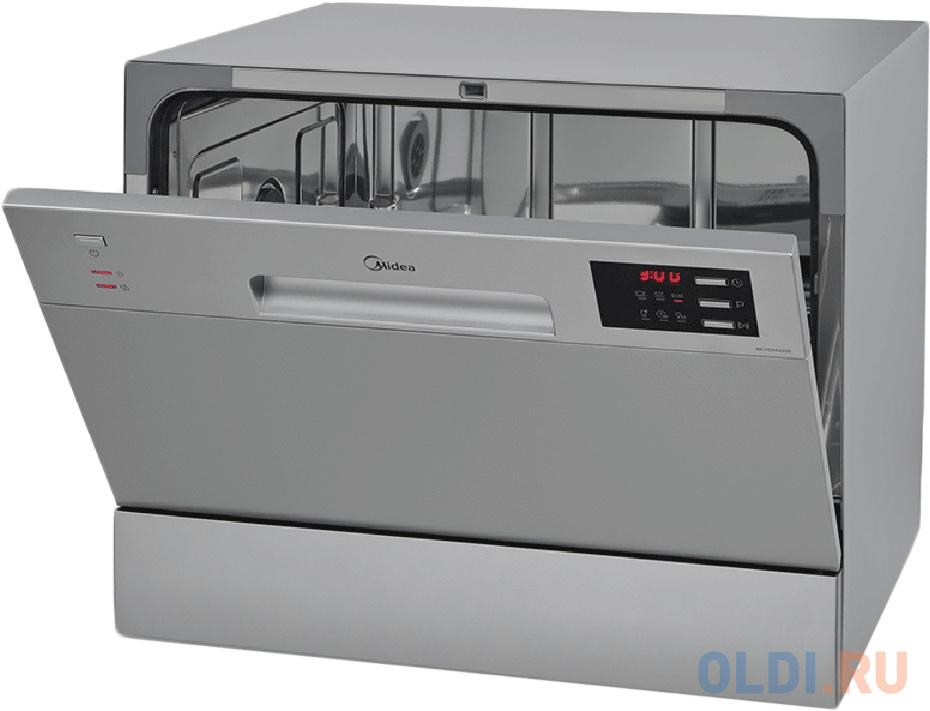 Посудомоечная машина Midea MCFD55320S серебристый (компактная)