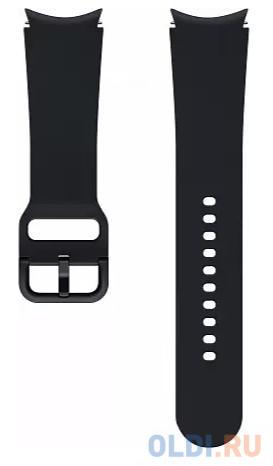 Фото - Ремешок Samsung Galaxy Watch Sport Band черный (ET-SFR87LBEGRU) ремешок samsung stitch leather band для galaxy watch3 45мм watch 46мм коричневый