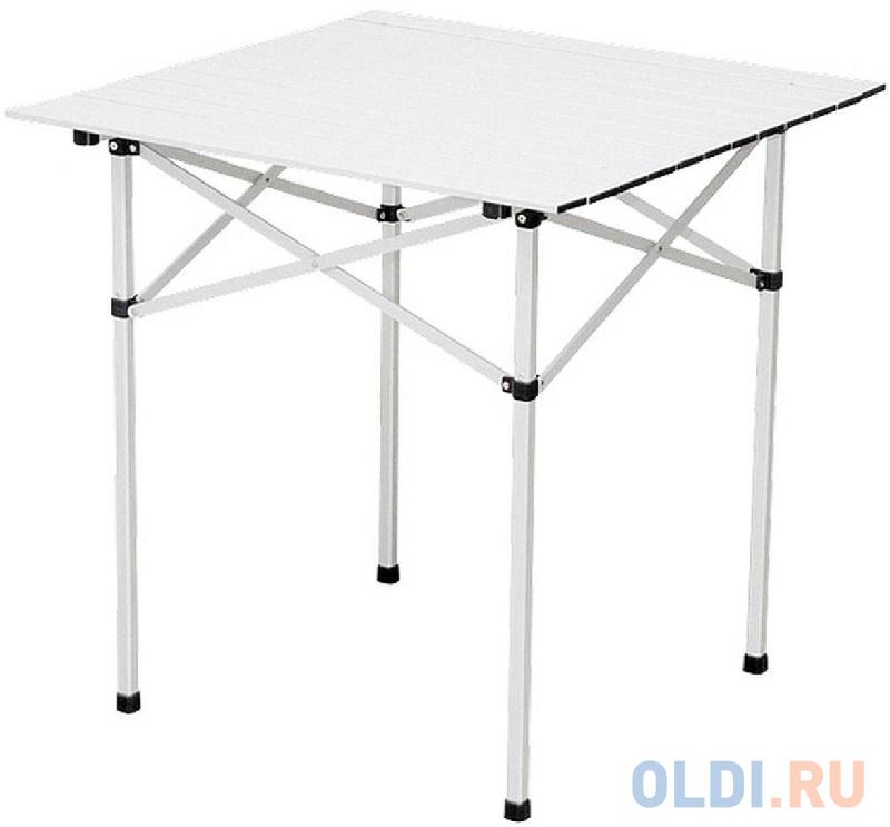 Стол складной алюминиевый, 700x700x700 мм Camping// Palisad