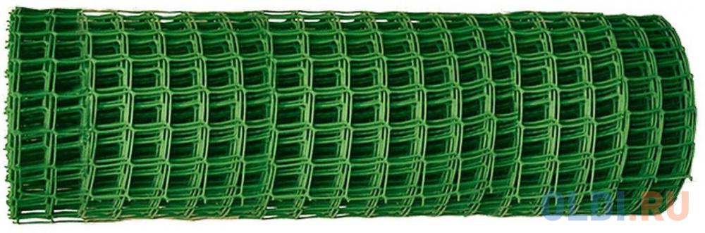 Садовая решётка в рулоне 1х20 м, ячейка 83х83 мм // Россия сетка пластиковая садовая квадрат желтая ср 15 1 20 15х15 мм 1х20 м