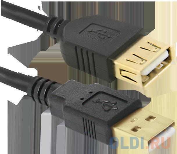 Кабель удлинитель Defender USB 2.0 AM/AF 1.8m, С ферритовыми кольцами, позол конт недорого