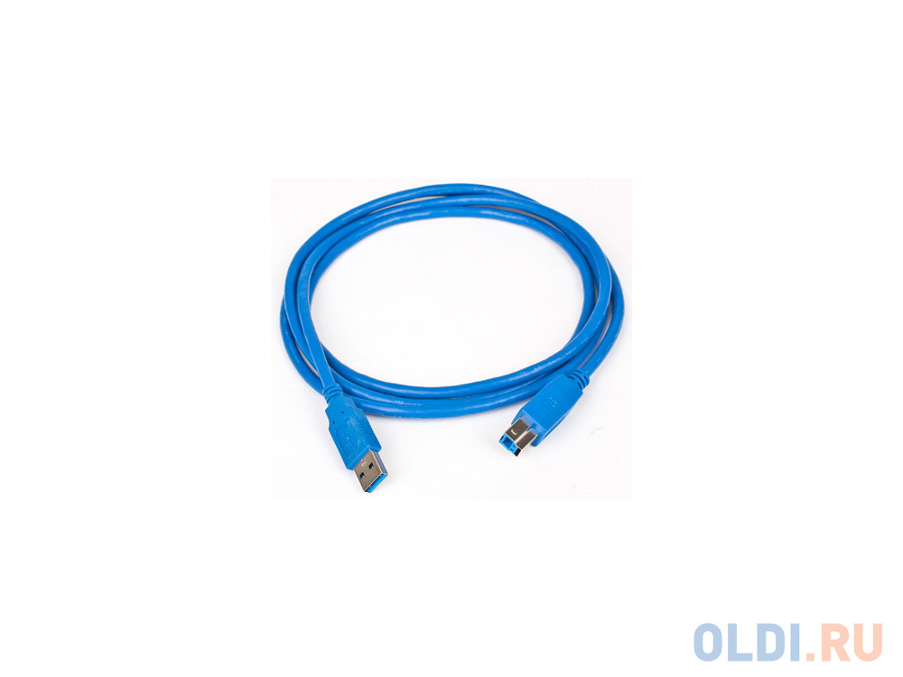 Фото - Кабель соединительный USB 3.0 AM-AM 1.8м Gembird экранированный синий CCP-USB3-AMAM-6 кабель соединительный usb 3 0 am am 1 8м hama h 39676 позолоченные контакты экранированный синий