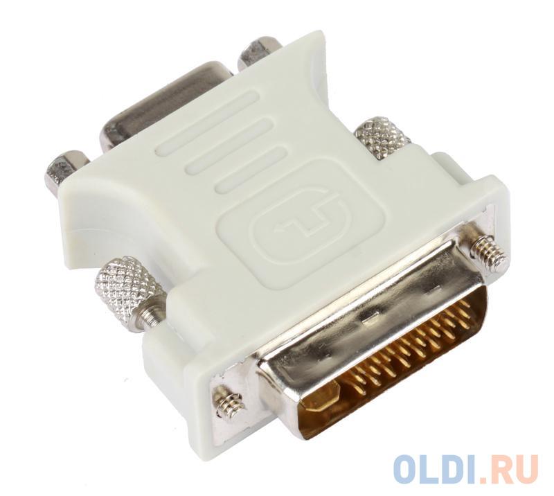 Адаптер (переходник) VCOM DVI-I -- VGA(15F)  VAD7817