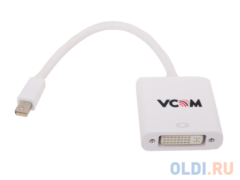 Кабель-переходник 0.2м VCOM Telecom Mini DisplayPort - DVI VHD6050