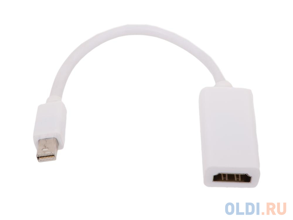 Кабель-переходник Mini DisplayPort (M)- HDMI (F) Telecom (TA6055)