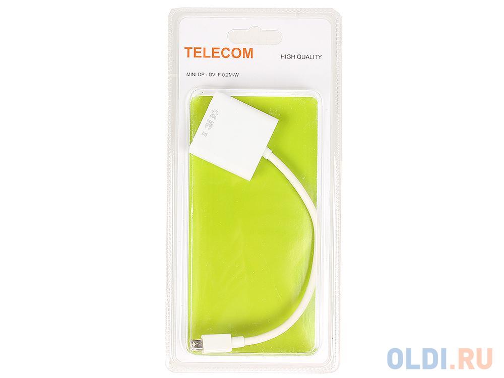 Кабель-переходник Mini DisplayPort(M) - DVI (F) Telecom (TA6050)