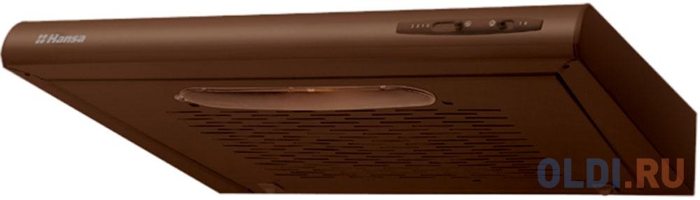 Вытяжка козырьковая Hansa OSC5111BH коричневый hansa fceb53000 коричневый