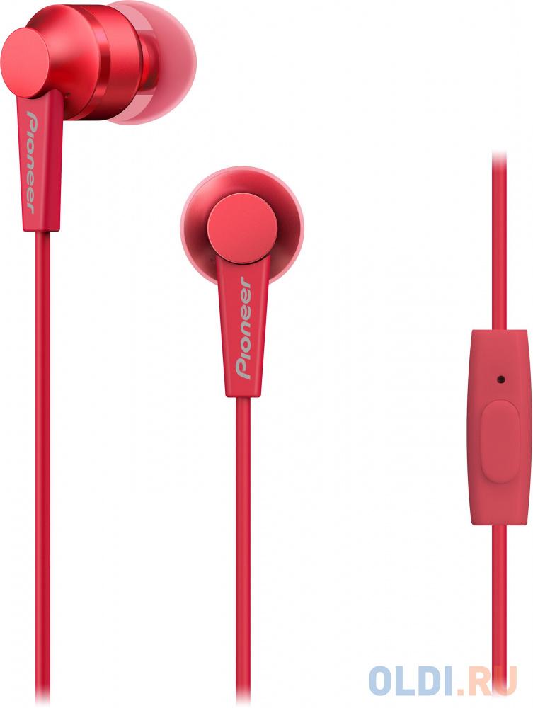 Наушники Pioneer SE-C3T-R красный