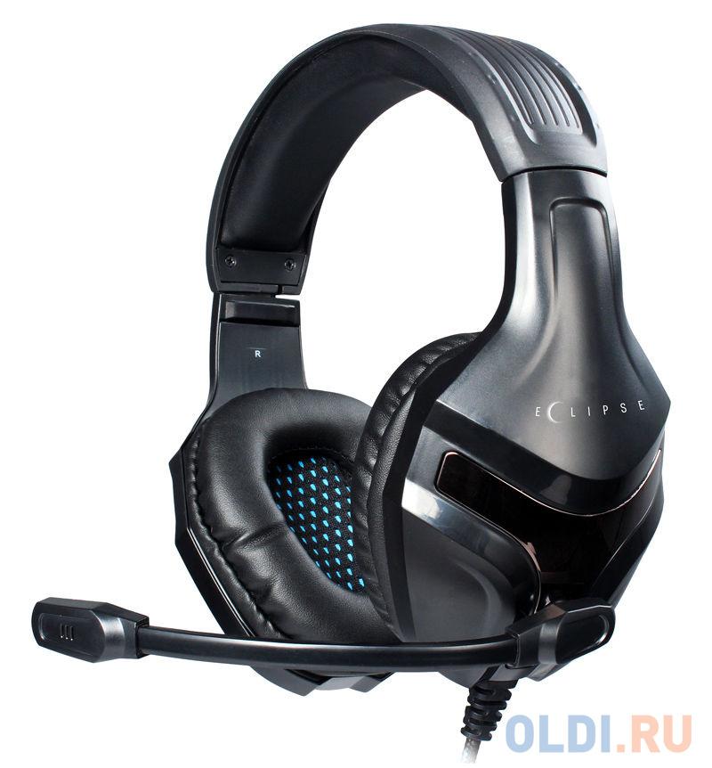Игровая гарнитура проводная Oklick HS-L370G черный