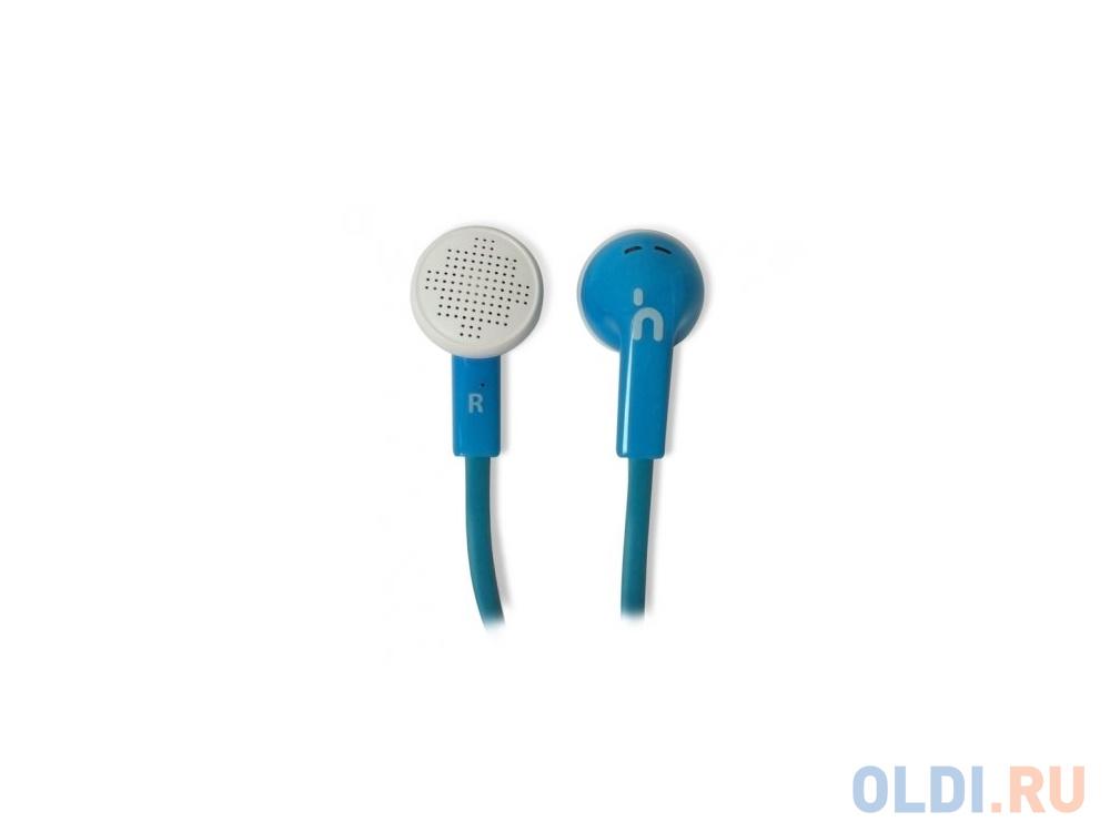 Наушники CBR Travel Sound Flat синий