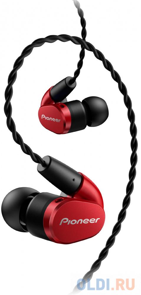 Гарнитура Pioneer SE-CH5T-R красный