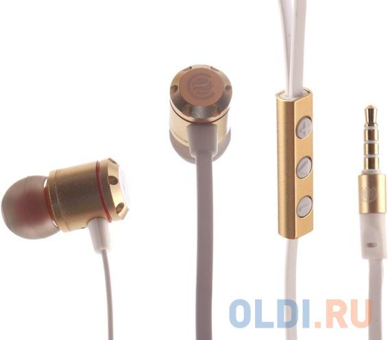 Наушники Continent HCW-7301 (LX N7) золотистый