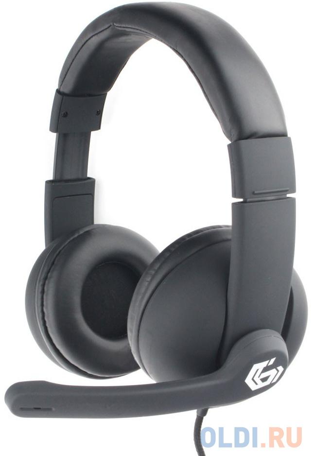 Фото - Игровая гарнитура проводная Gembird MHS-G220 черный mhs g500l