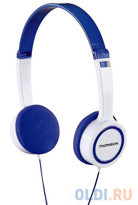Наушники Thomson HED1105BL синий белый