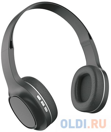 Perfeo PRIME чёрные, наушники полноразмерные беспроводные с микрофоном, MP3 плеером [PF_A4311]