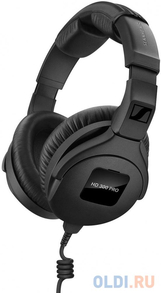 Наушники Sennheiser HD 300 PRO черный недорого