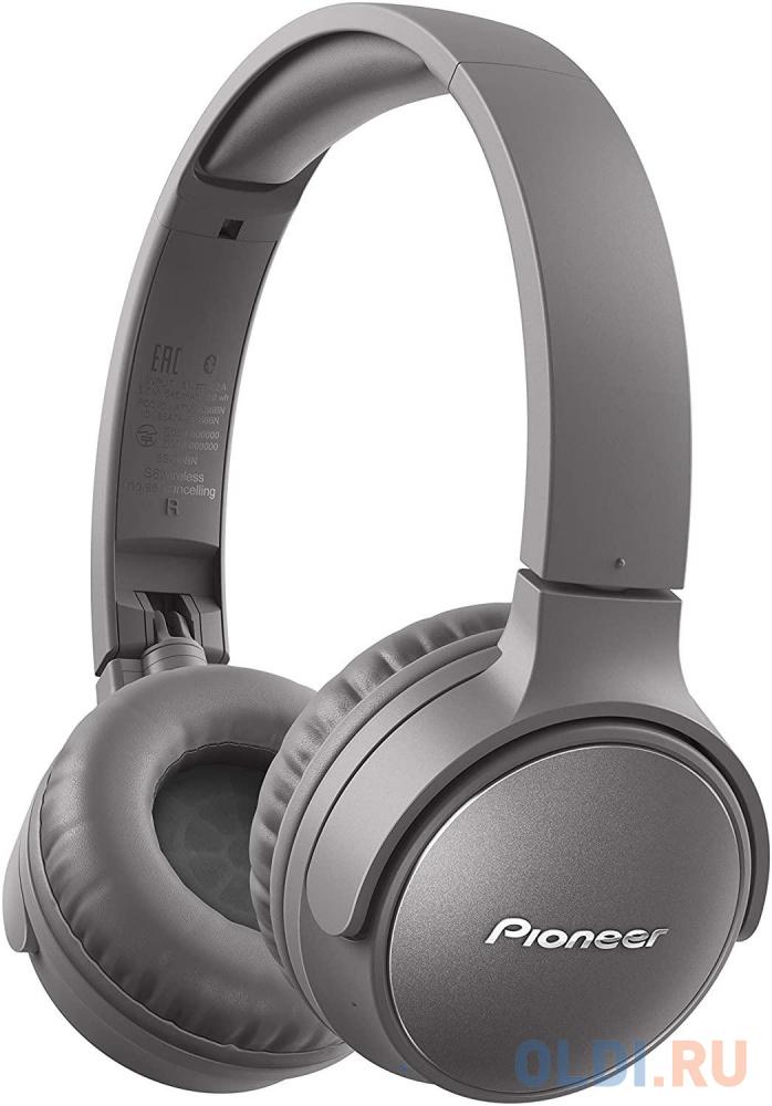 Гарнитура Pioneer SE-S6BN-H серый
