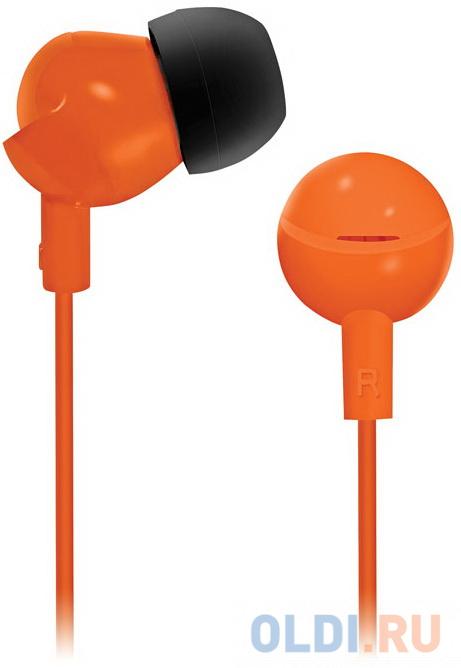 Фото - Наушники BBK EP-1104S оранжевый комплект штор томдом примула оранжевый