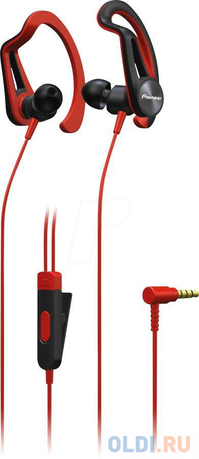 Гарнитура Pioneer SE-E5T-R красный
