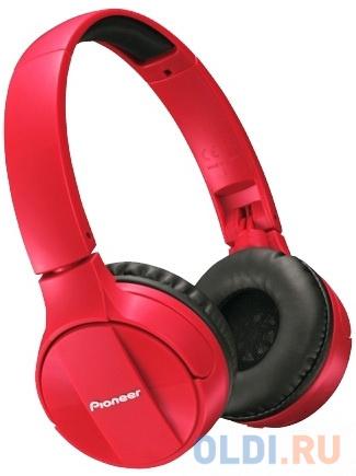 Гарнитура Pioneer SE-MJ553BT-R красный