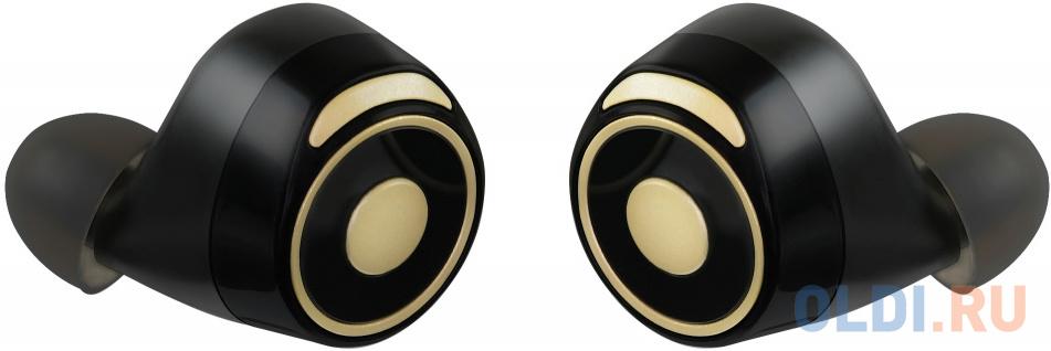 Гарнитура вкладыши Digma TWS-07 черный беспроводные bluetooth (в ушной раковине) (кейс в компл.) гарнитура digma tws 06 черный