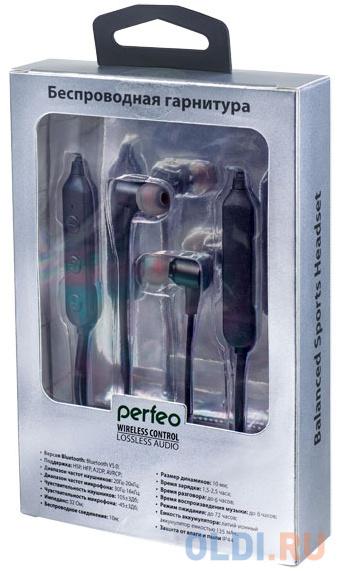 Гарнитура Perfeo BALANCE черный серебристый PF_A4303