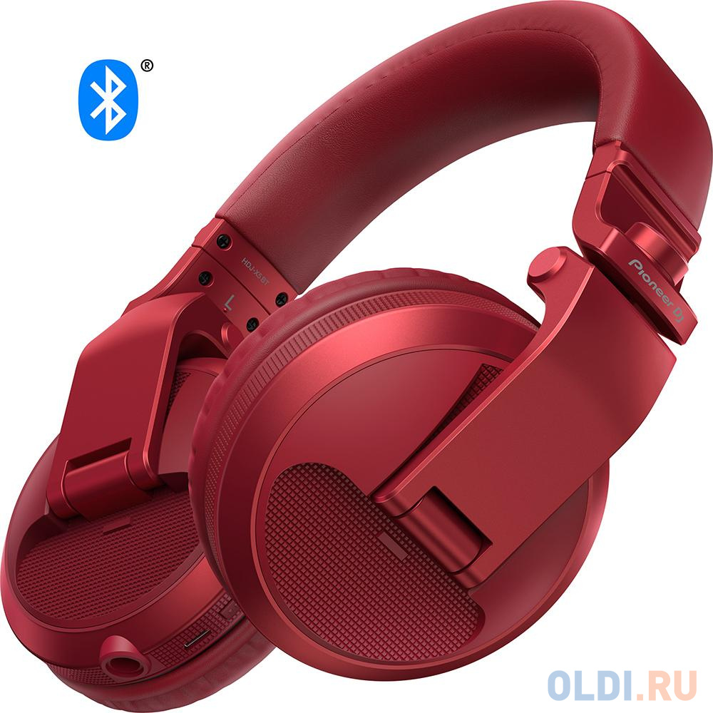 Гарнитура Pioneer HDJ-X5BT-R красный
