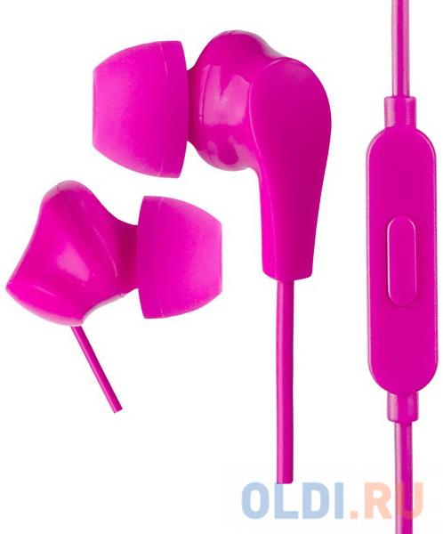 Фото - Perfeo наушники внутриканальные c микрофоном ALPHA розовые наушники внутриканальные olmio mobile 3 5мм с микрофоном и пультом белые