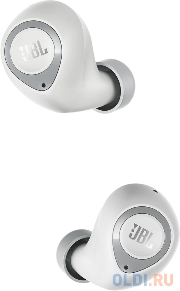 Фото - JBL T100TWS Наушники-гарнитура (вкладыши), белый bt наушники гарнитура вкладыши jbl reflect mini2 бирюзовый jblrefmini2tel