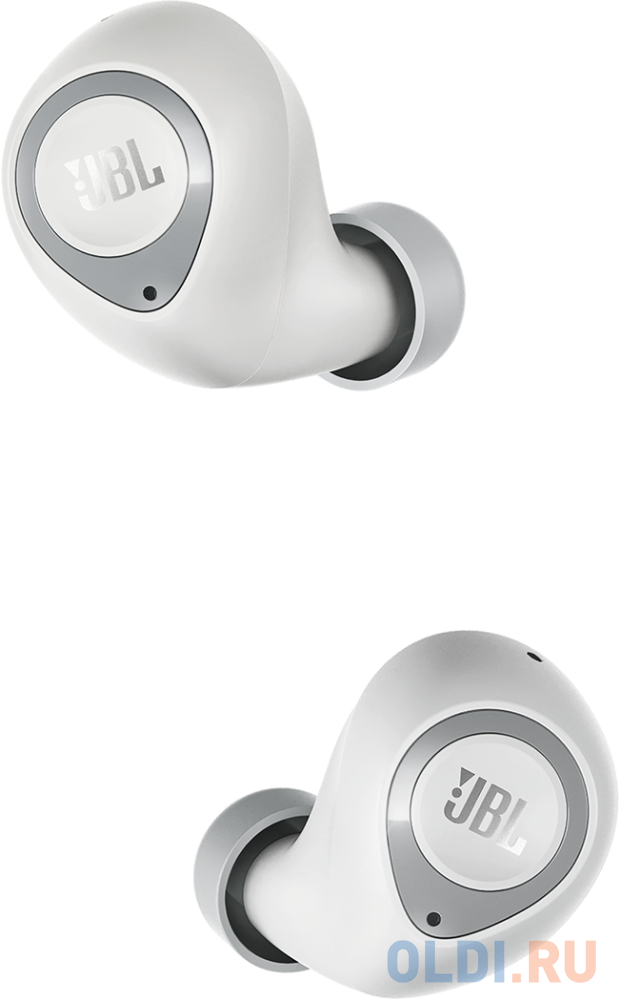 JBL T100TWS Наушники-гарнитура (вкладыши), белый