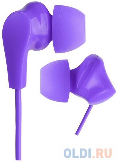 Perfeo наушники внутриканальные NOVA фиолетовые