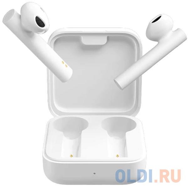 Гарнитура вкладыши Xiaomi Mi True Wireless Earphones 2 Basic белый беспроводные bluetooth (в ушной раковине).