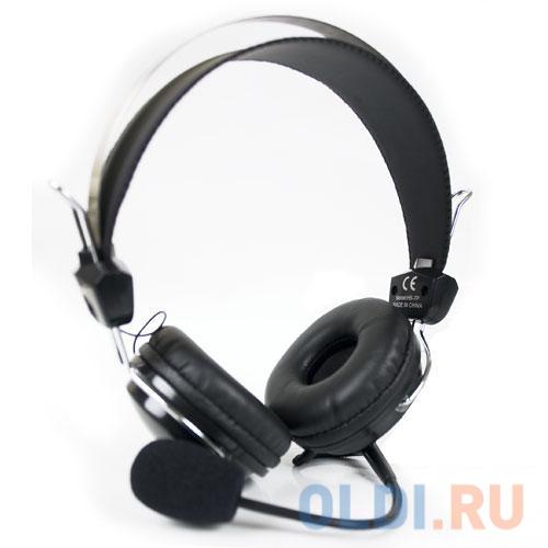 Гарнитура  A4Tech HS-7P черный 2.5м накладные