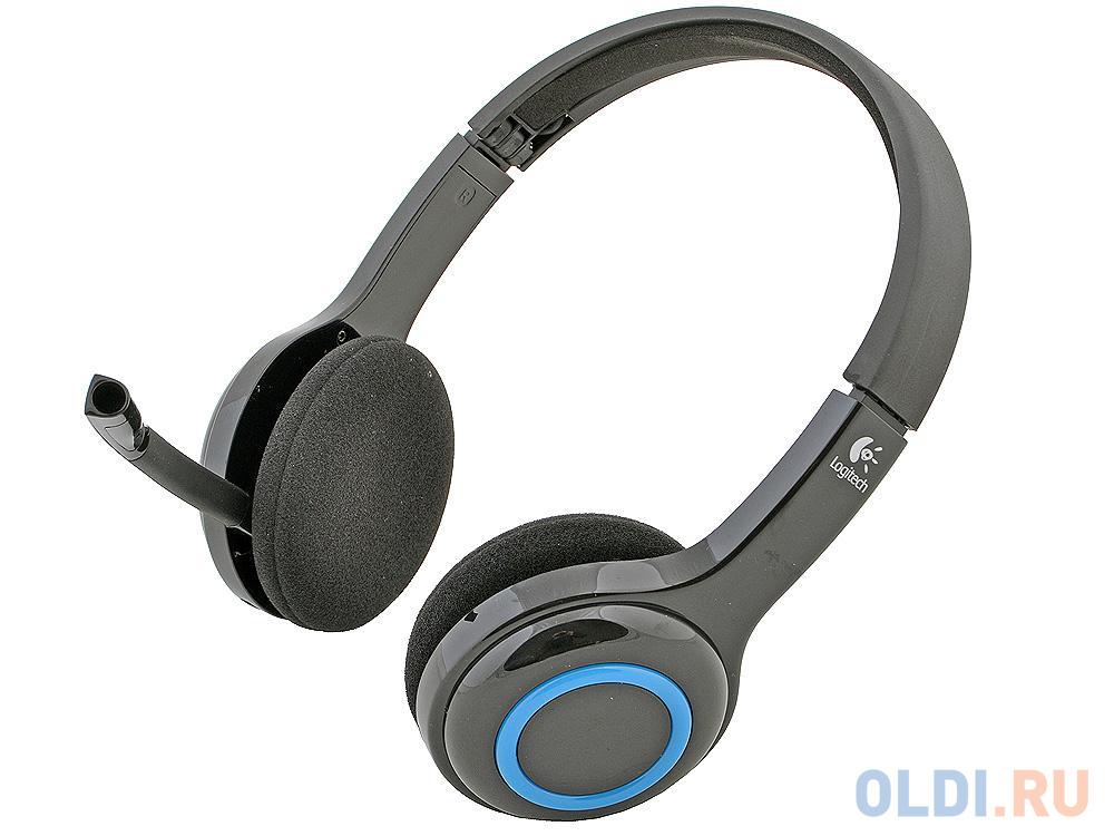 (981-000342) Гарнитура Беспроводная Logitech Wireless Headset H600 беспроводная гарнитура logitech wireless headset h820e mono 981 000512