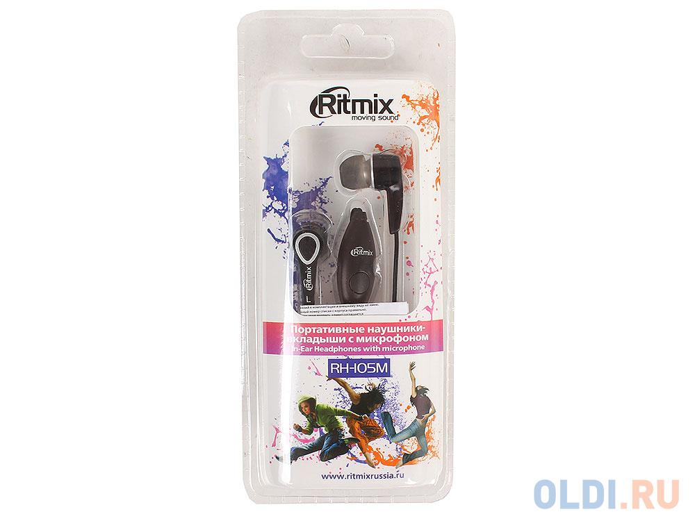 Гарнитура Ritmix RH-105M Black