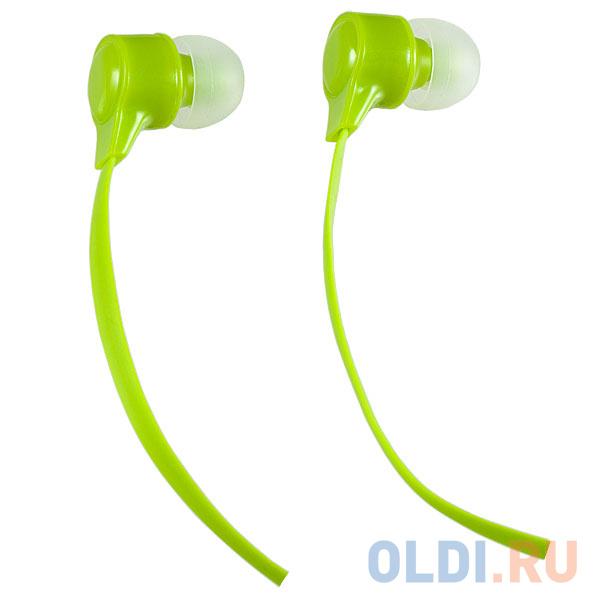 Наушники Perfeo BASE желто-зеленый PF-BAS-LME