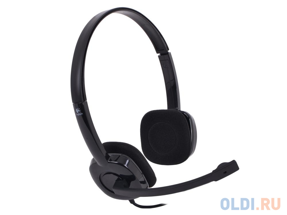 Фото - (981-000589) Гарнитура Logitech Stereo Headset H151 гарнитура logitech headset zone wired uc 981 000875 серые
