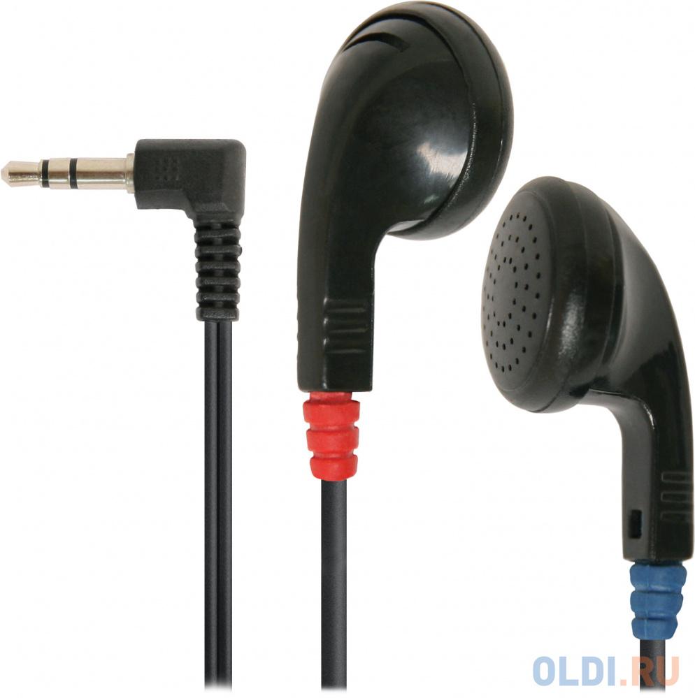 Наушники Defender Basic-634 черный кабель 1.1м