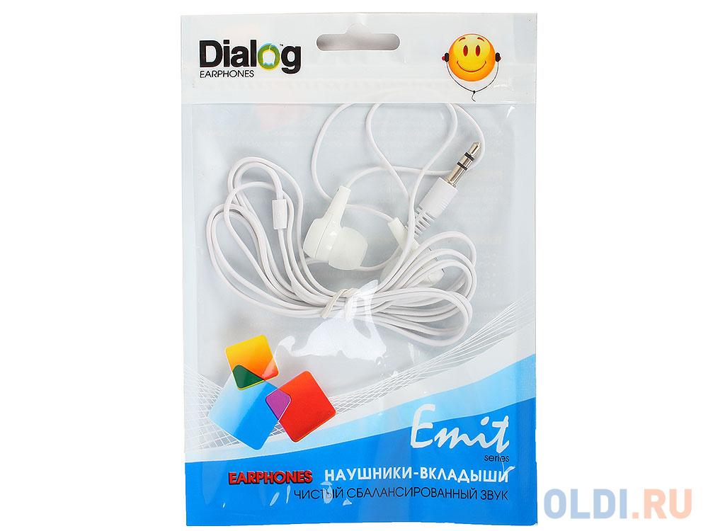 Фото - Наушники Dialog EP-010 white наушники dialog ep 03 белый