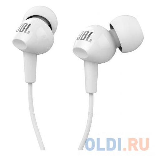 Наушники (гарнитура) JBL C100SIU White