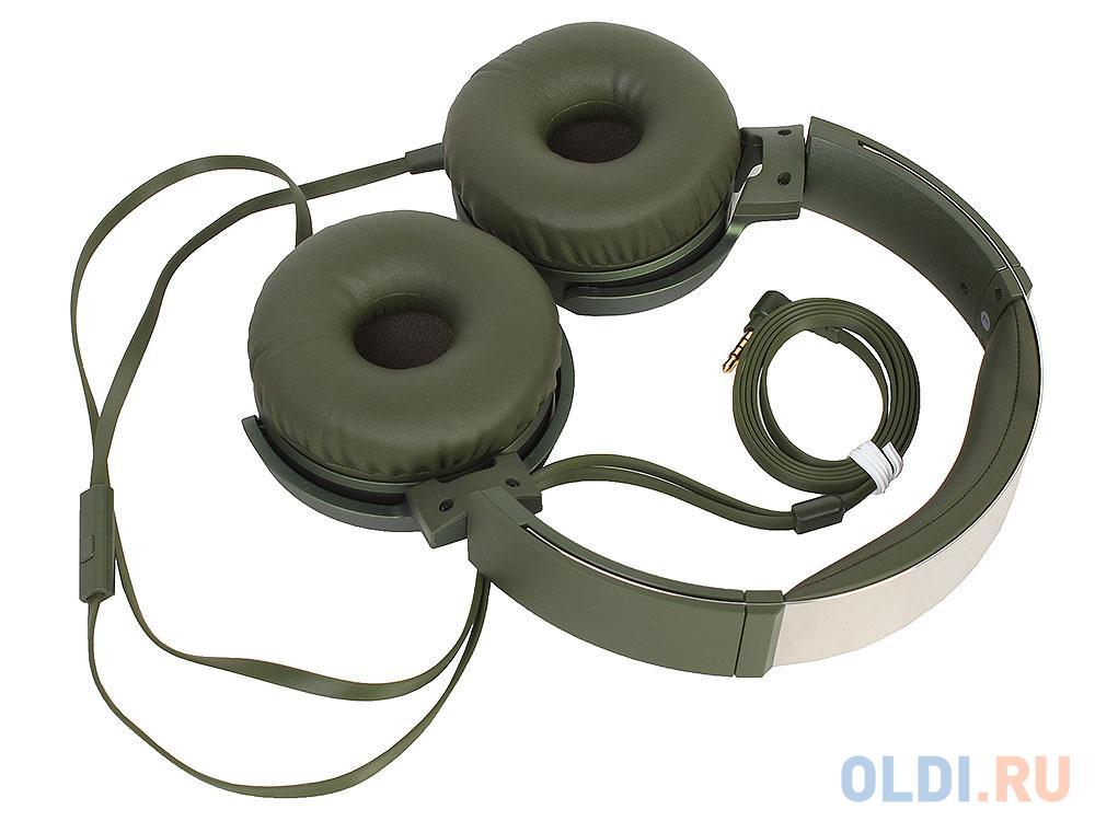 Наушники SONY MDRXB550APG.E зеленый