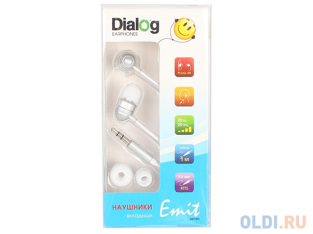 Фото - Наушники Dialog EP-F55 Silver наушники dialog ep f55 серебристый