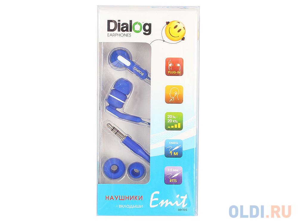 Фото - Наушники Dialog EP-F15 Blue наушники dialog ep 03 белый